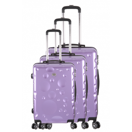 3 Hard suitcase Set - POINTE A PITRE