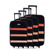 Extensible 4 suitcase set