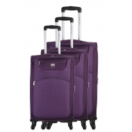Set of 3 EXTENSIBLE trolley suitcases - Madrid