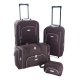 Set de 2 valises extensible + 1 sac cabine + 1 trousse de toilette
