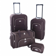 Set of 2 extensible suitcases +cabin bag + toilet kit - Phuket