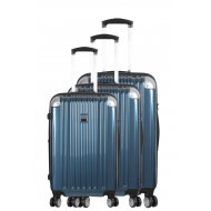 Set of 3 extensible hard suitcases - PUNTA CANA