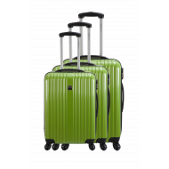 Set of 3 hard shell suitcases