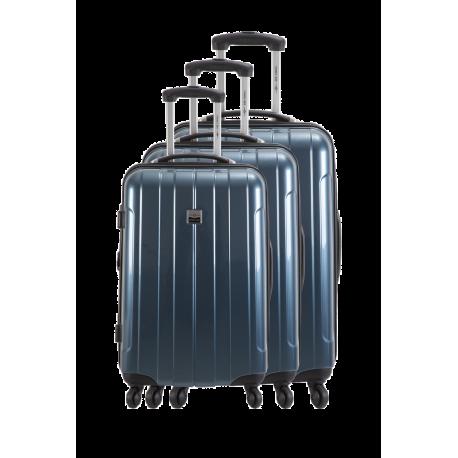 Set de 3 valises chariot extensibles  rigides