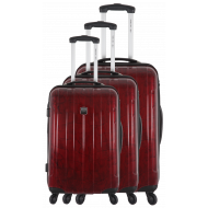 Set de 3 valises extensibles  rigides