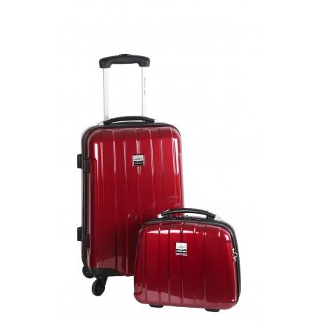 Suitcase and vanity set