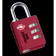 Code padlock TSA standard
