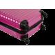 Set de 3 valises chariot rigides