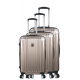 Set of 3 extensible hard suitcases